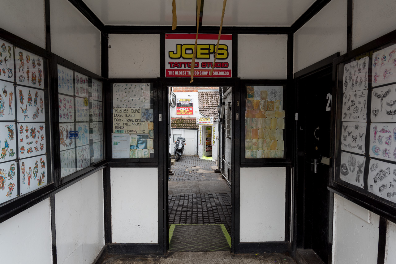 Oldest tattoo parlour in Skegness
