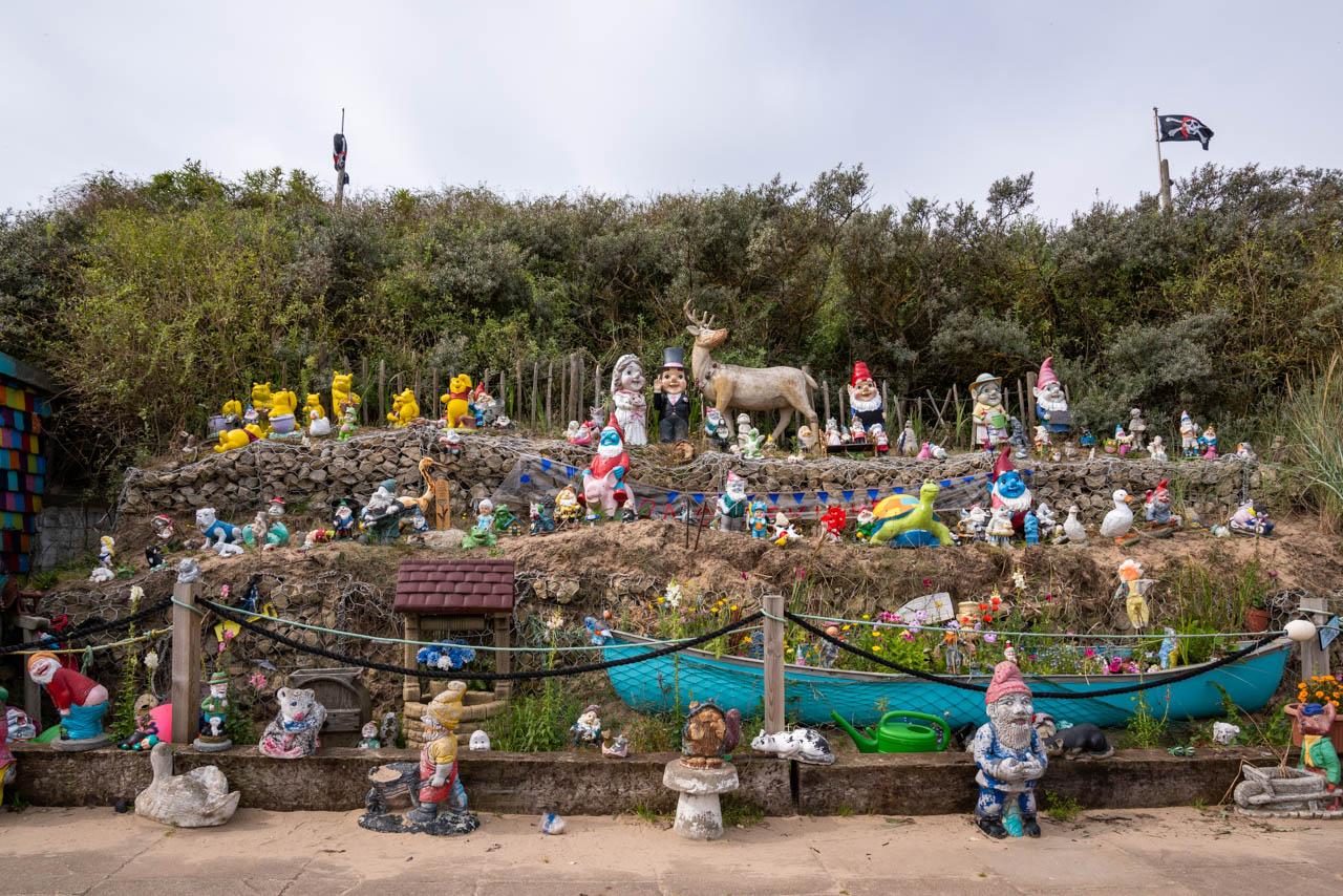 Gnomes on holiday - Mablethorpe